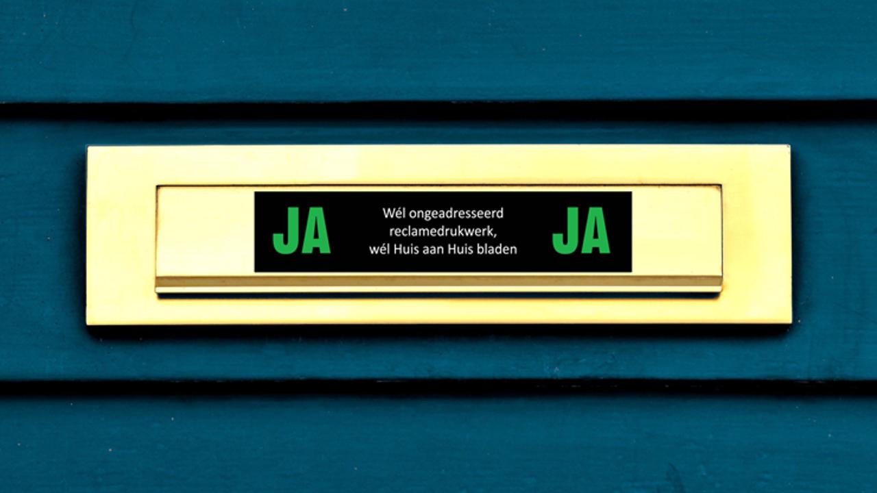 Waarom de JA/JA-sticker geen vloek maar een zegen is