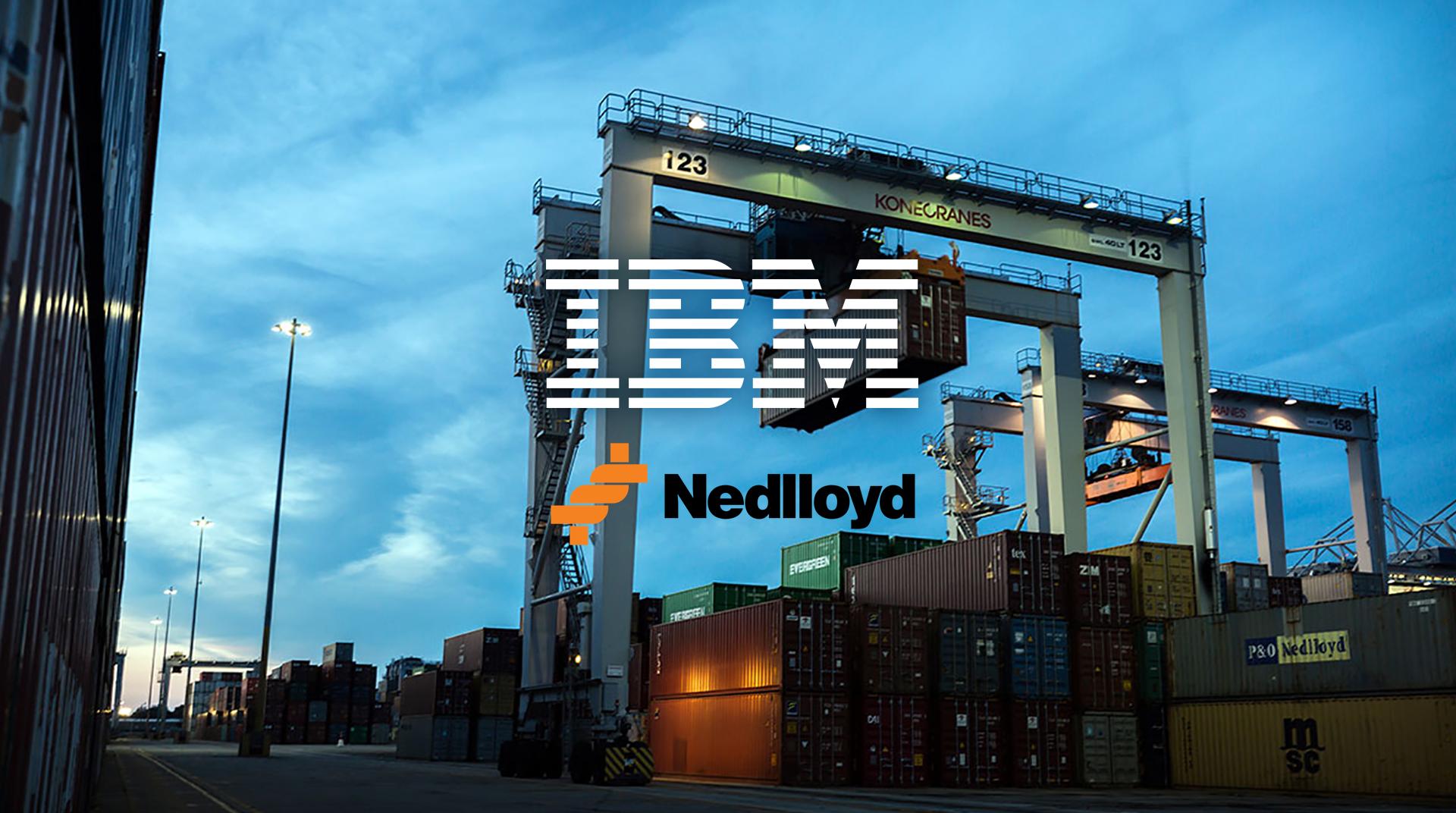 IBM/Nedlloyd   Digital transformation en service design in supply chain management